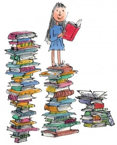 RD9029 - Roald Dahl - Im wondering what to read next - Matilda - Collectors Edition Print