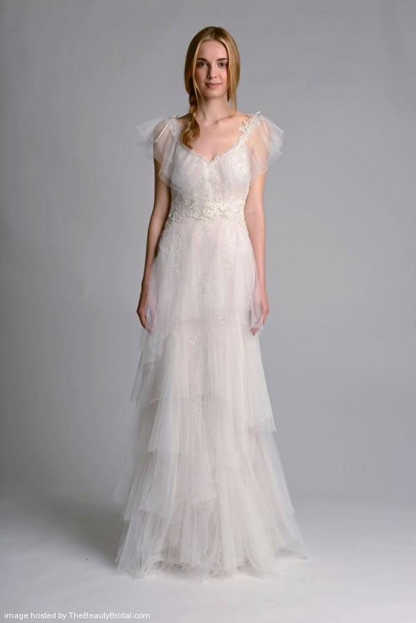 Marchesa-Fall-2014-Tiered-Column-Wedding-Gown