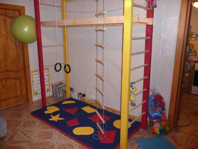 Детские комплексы для квартиры своими руками 434