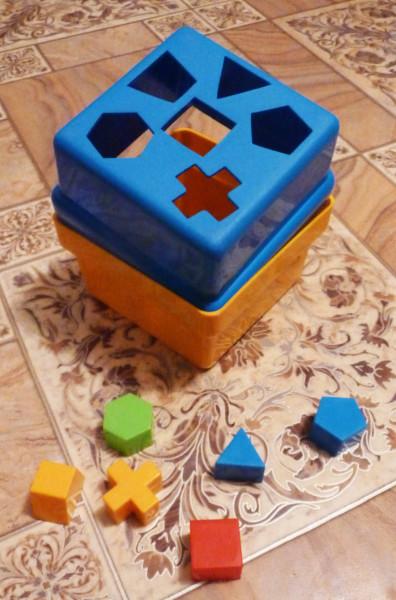 сортер двухсторонний куб