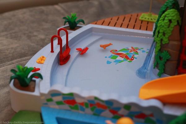 playmobil бассейн большой