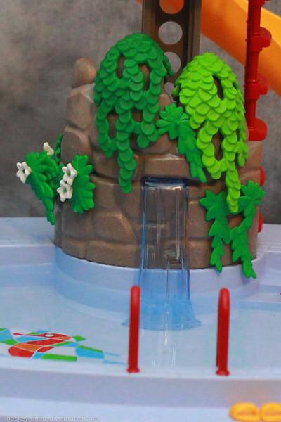 playmobil бассейн водопад