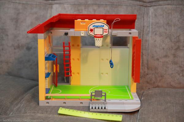 playmobil спортзал линейка