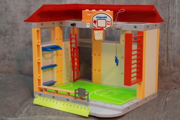 playmobil спортзал