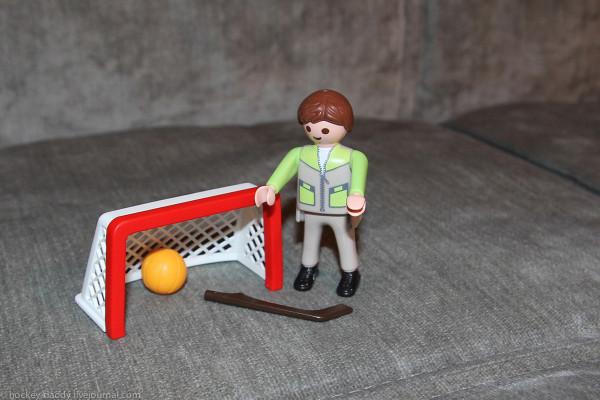 playmobil хоккейные аксессуары