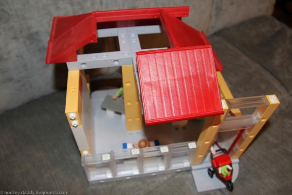 playmobil спортзал сверху