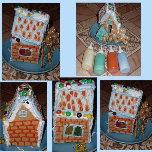 пряничный домик со всех сторон