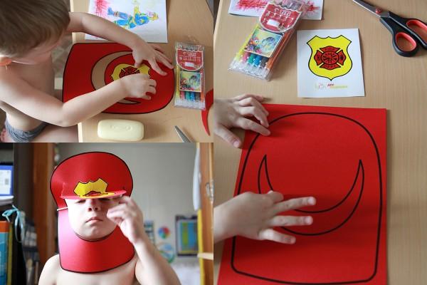 шлем-пожарный