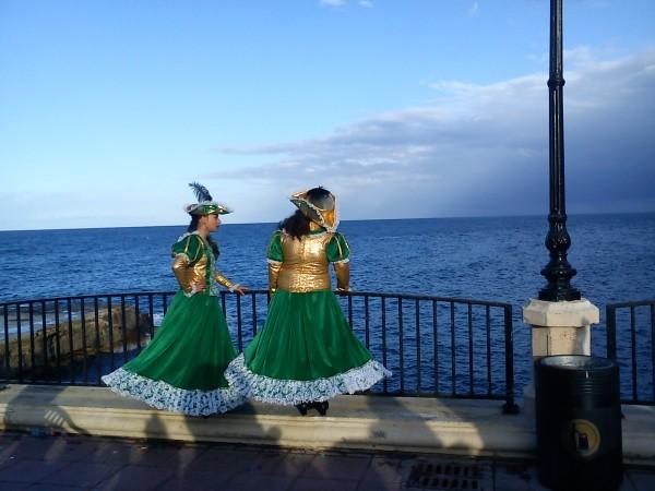 two green maltese
