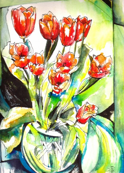 screaming tulips