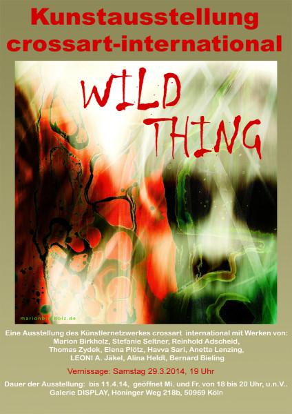Plakat wild thing Kopie