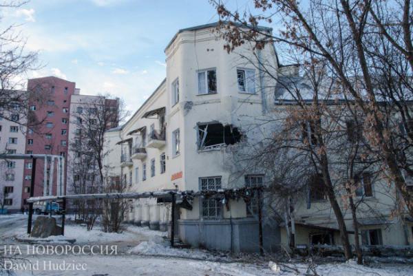 Последствия взрыва в оккупированном Донецке - Цензор.НЕТ 5690