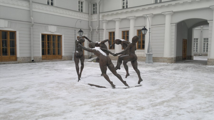 танец 3 д