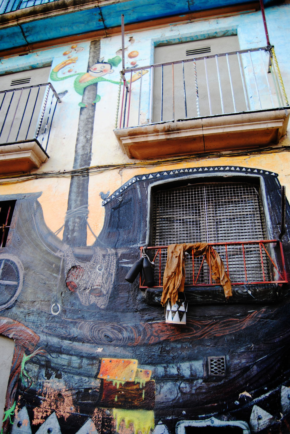 Таррагона, стрит-арт