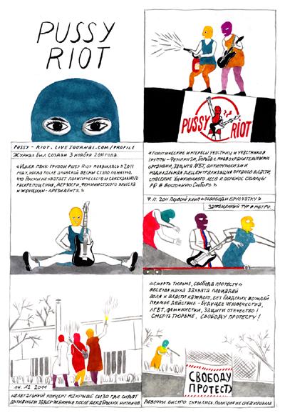 Полина Петрушина, «PUSSY RIOT»