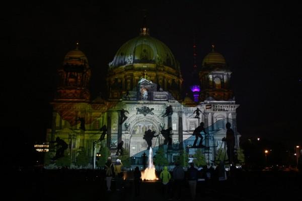 Фестиваль света-Берлинский кафедральный собор