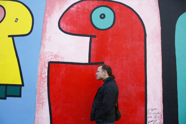 Галерея на остатках Берлинской стены