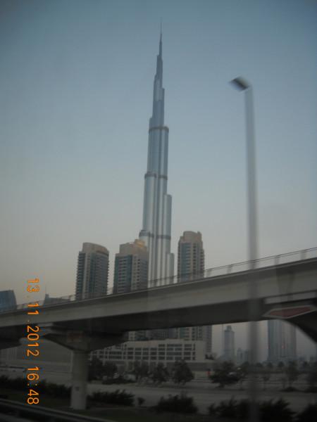 небоскреб Бурдж-Халифа