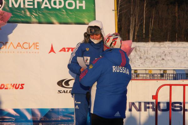 Мария Панфилова - третье место