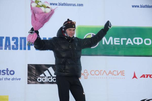 Победитель гонки - Николай Елисеев