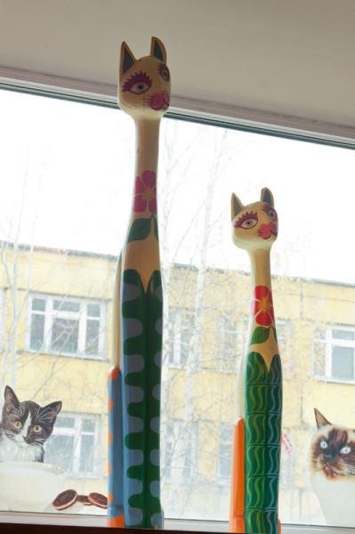 а эти кошечки очень милые