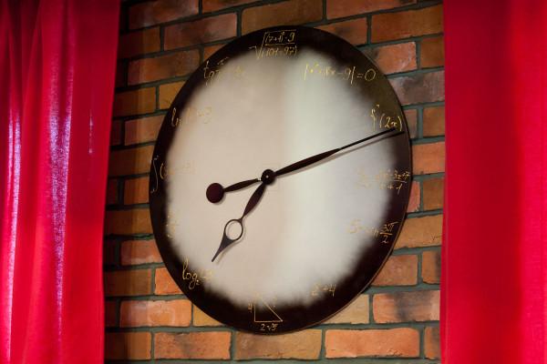 чтобы узнать, который час нужно вспомнить алгебру
