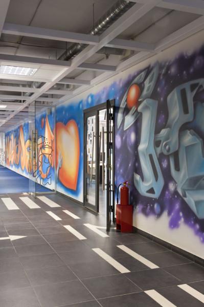 коридор 4 этажа