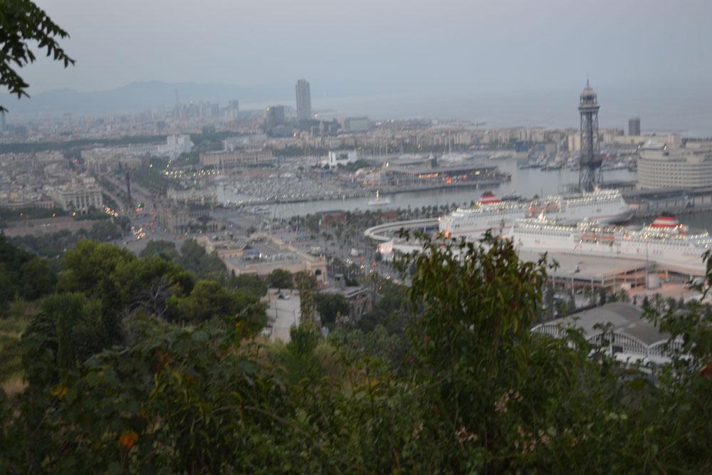 Вид на Барселону!