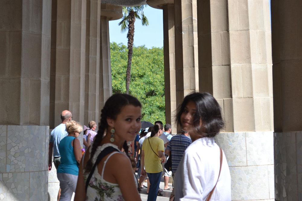 колонны Гауди