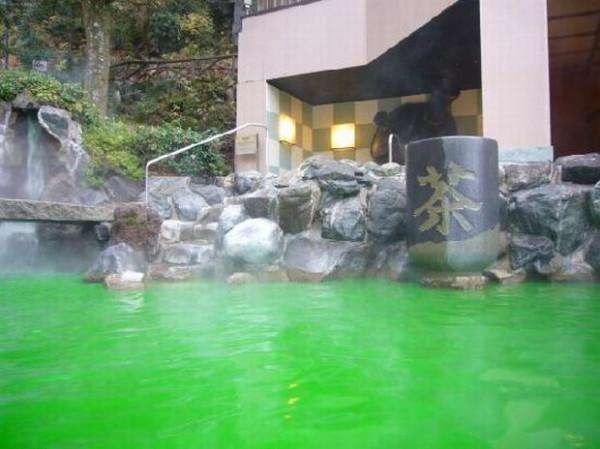ванна с зеленым чаем для похудения