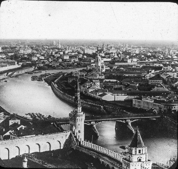 Вид на Москву с колокольни Ивана Великого. Нач. XX в.