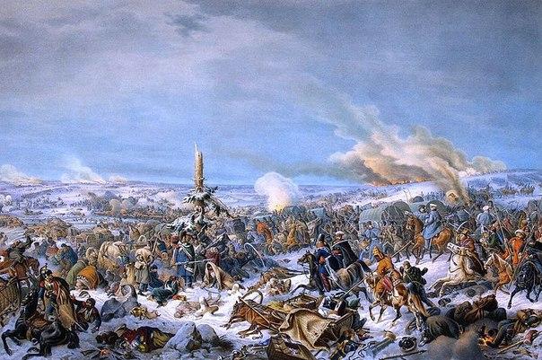П. фон Гесс. Переправа через Березину 17 ноября 1812 г.