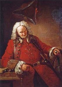 Неиз. художник XVIII в. Шут Балакирев