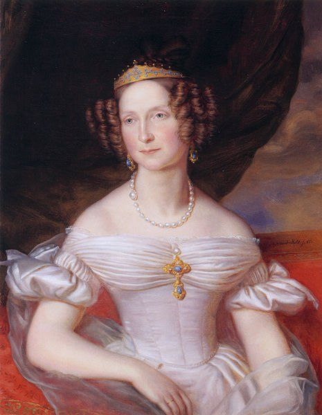 Жан-Батист ван дер Халст. Портрет Анны Павловны, королевы Нидерландов