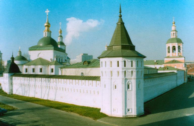 Московский Свято-Данилов ставропигиальный монастырь. Современное  фото