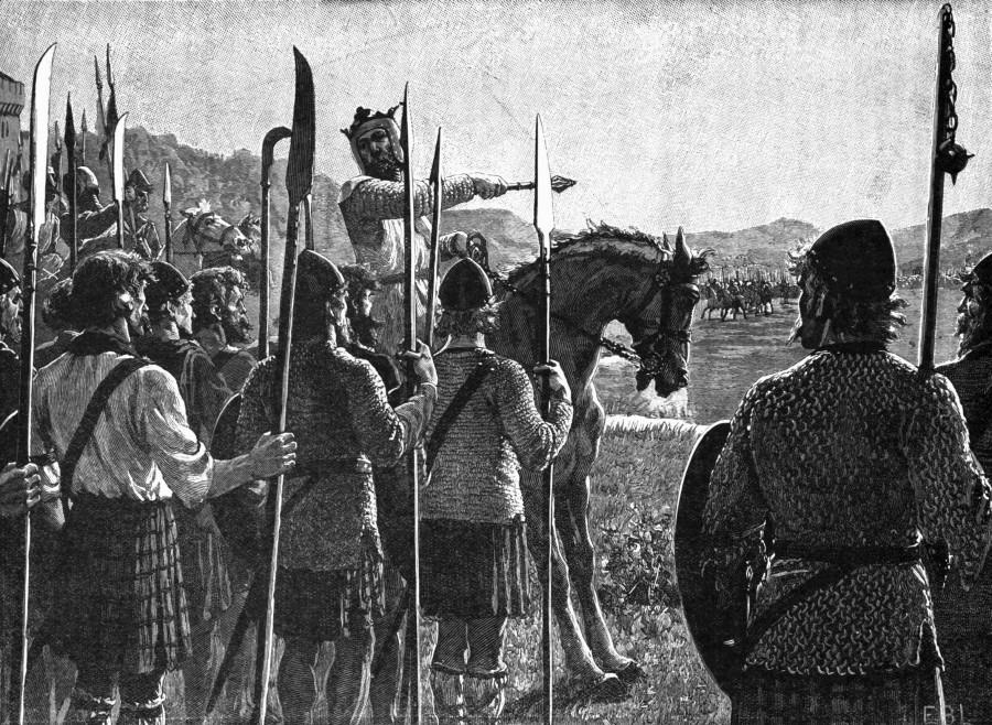 Battle_of_Bannockburn_-_Bruce_addresses_troops