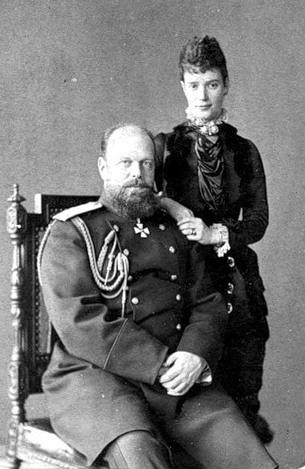 Император Александр III  и Императрица Мария Фёдоровна