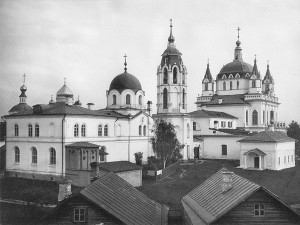 Зачатьевский монастырь 1882 г.