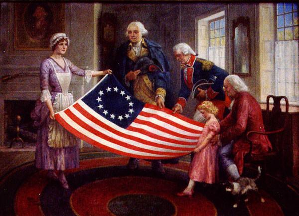 Картинки по запросу «Флаг Бетси Росс»