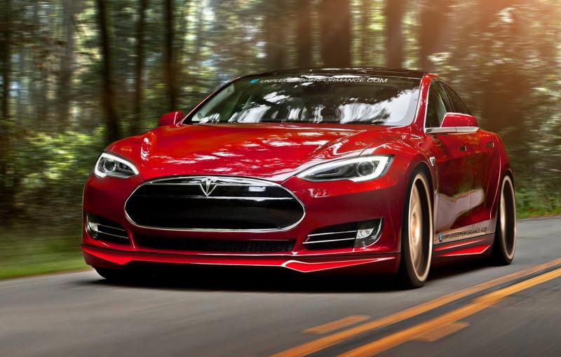 Red-Tesla-Model-S