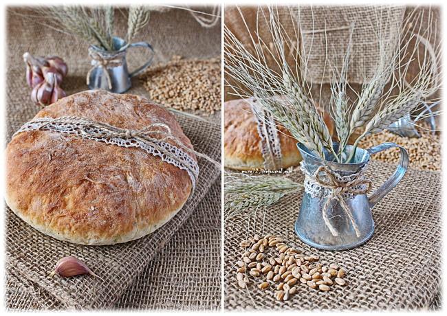 Чесночный хлеб с базиликом мозг72_1
