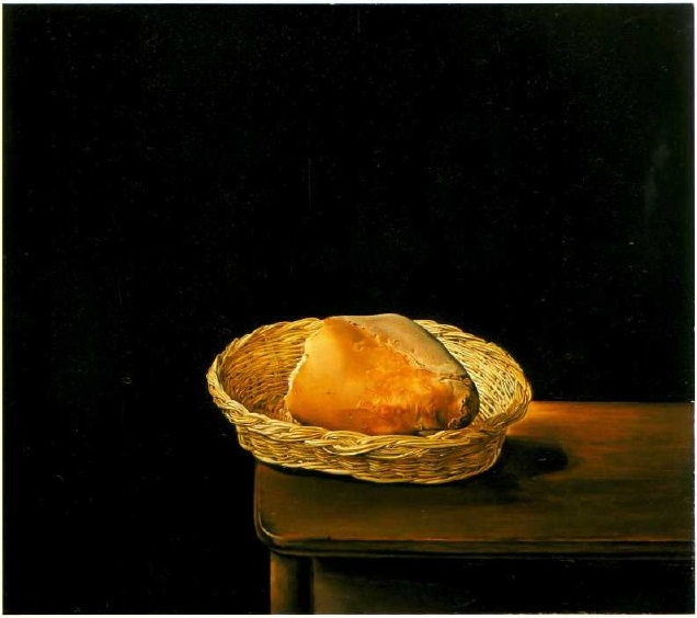 Корзинка с хлебом Дали