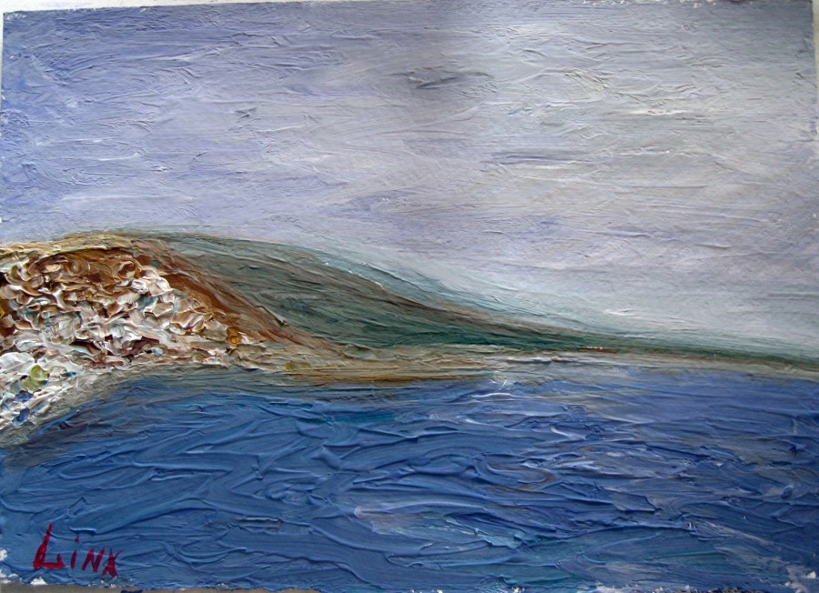 Пейзаж Мертвого моря-2