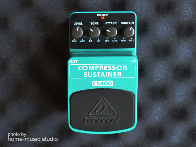 Compressor Sustainer Behringer CS400 для гитары и бас-гитары;
