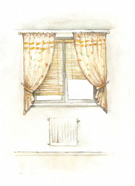 эскизы штор для кухни фото листе бумаги рисуем