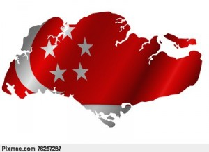 singapore-map-with-flag