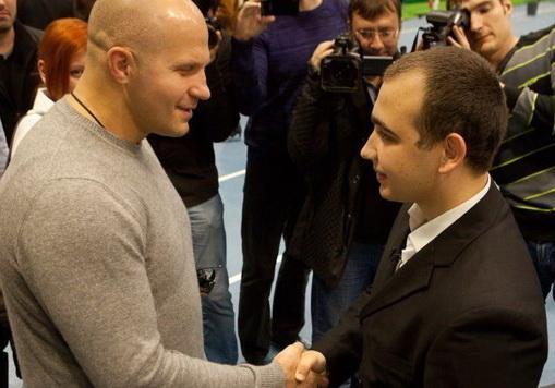 Гриша Мишутушкин и Федор Емельяненко