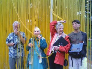 George, Joan, Honoria and Zeek Blanton Museum, Austin, TX April 2009