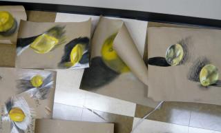 student drawings of lemons