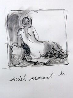 model moment in Austin